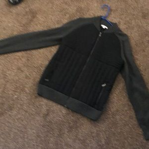 Black and grey Calvin clean jacket